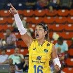 Brasil sofre, mas derrota a Colômbia na Copa Pan-Americana de vôlei