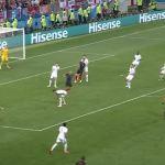 Veja os gols da vitória da Croácia sobre a Inglaterra