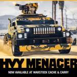 GTA ONLINE | HVY Menacer é o novo veículo do modo