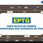 EPTG: sistema de faixas reversas começa nesta segunda. Veja detalhes