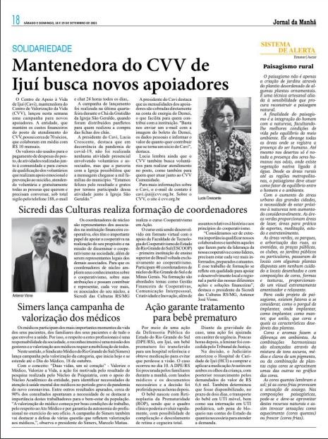 Imprensa repercute campanha do Simers pela valorização do médico 4