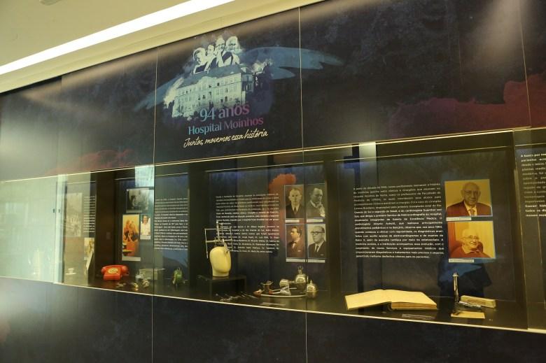 Exposição homenageia profissionais da saúde nos 94 anos do Hospital Moinhos de Vento 3