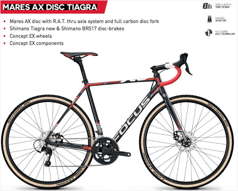 Mares AX Tiagra