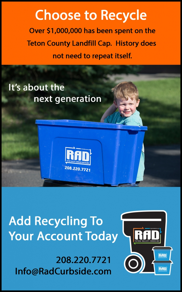 4th Page RAD Ad Choose to Recycle 1mill