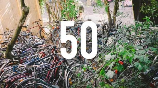 50 bikes for refugees