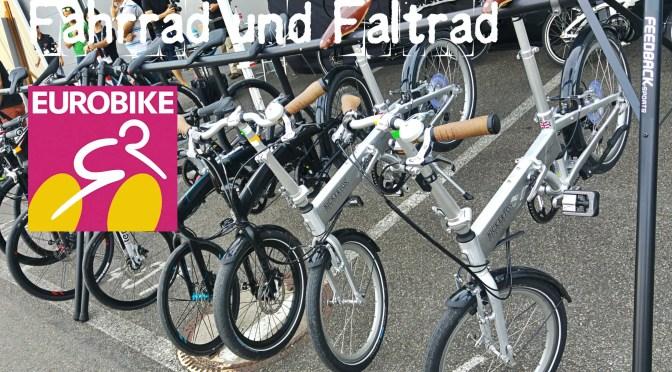 Eurobike 2016: Fahrrad und Faltrad