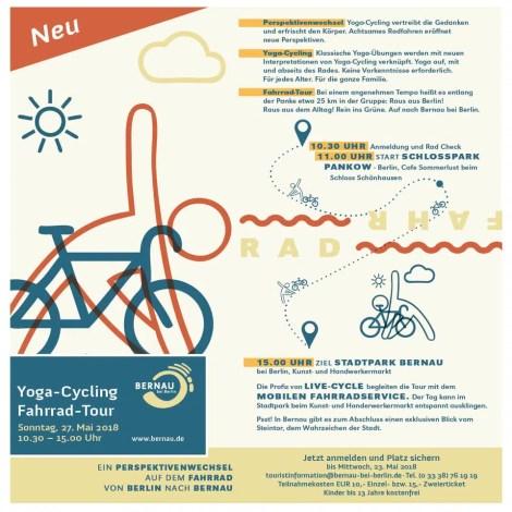 Die Yoga Fahr Rad Tour