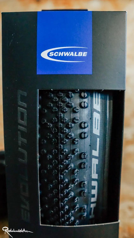 Schwalbe G-One Bbite Reifenprofil