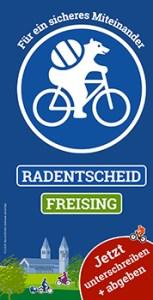 Neuer Flyer zum Radentscheid