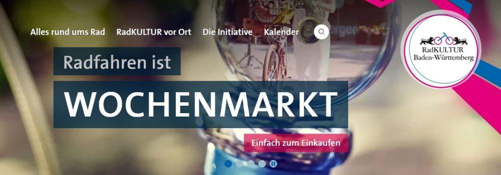 RadKULTUR Baden-Württemberg: Wochenmarkt