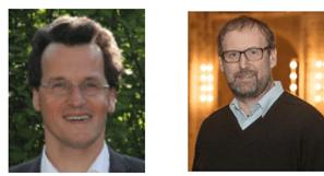 Pfarrer Klaus Eberhard (links) und Pfarrer Andreas Brocke (rechts)