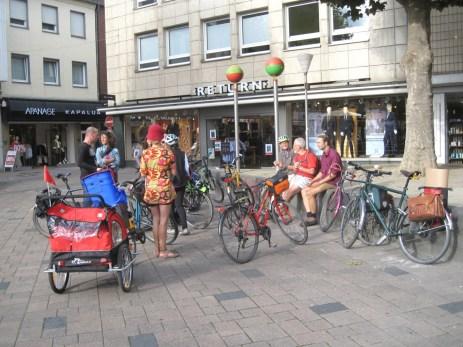 Treffen am Marktplatz