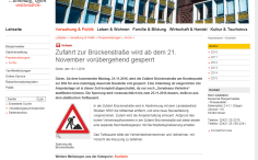 Pressemeldung 18.11. auf dueren.de