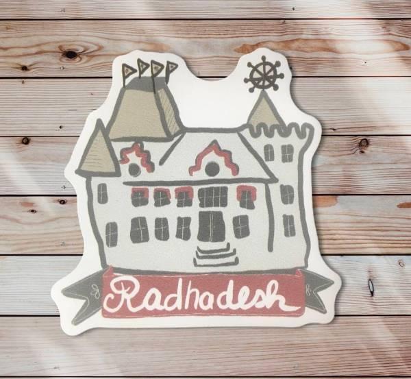Radhadesh castle magnet