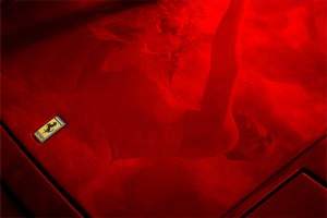Images Coterie Photography, Theresa Saxon, Photographer :: Reflection on the hood of a Ferrari http://www.imagescoterie.com