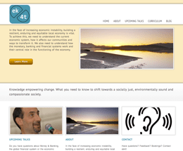 Essential Knowledge for Transition (ek4t) website image