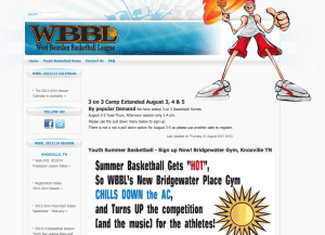 West Bearden Basketball League, Knoxville TN