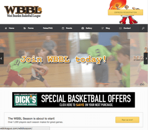 AFTER: The new-and-further-improved WBBL web site