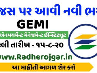 GEMI Recruitment for Clerk cum Typist
