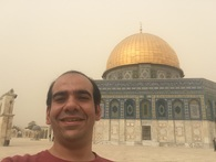 """The Golden Dome of Qubbat-Al-Sakhra, or as Barghouti put it: """"Convex mirror that abstracts the face of the sky"""""""
