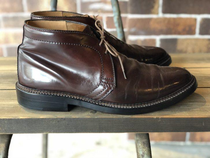 aldenオールデン1339靴底ソール交換靴修理