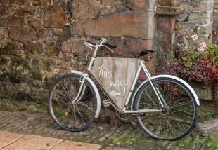Askham Hall Wedding Bicycle