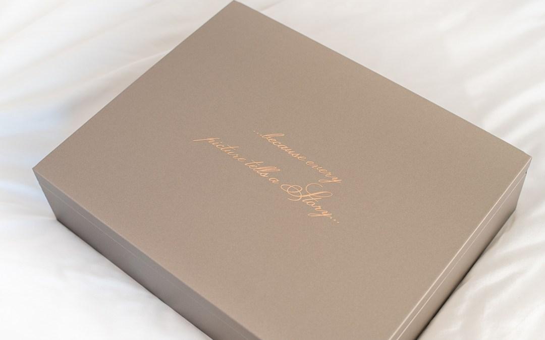 Introducing our Luxury Folio Box