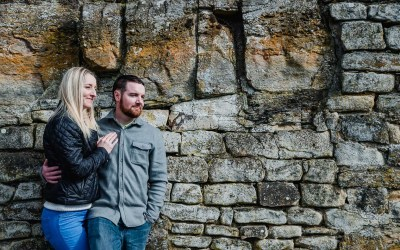 Barnard Castle Engagement Portraits