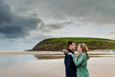 St Bees Beach Engagement-10