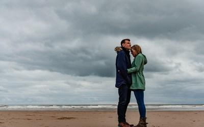 Coastal Engagement Photoshoot, St Bees