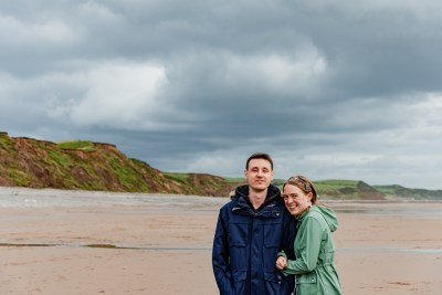 St Bees Beach Engagement-5