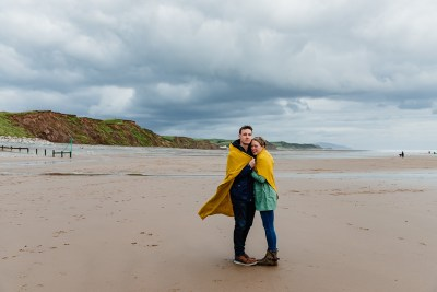 St Bees Beach Engagement-6