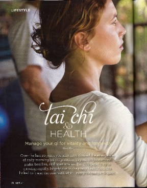 Tai Chi & Health (Alive Magazine April 2011)