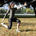 Single leg squat with The Human Trainer | Radiance Wellness