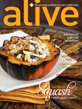 alive magazine November 2013-Shari Feuz