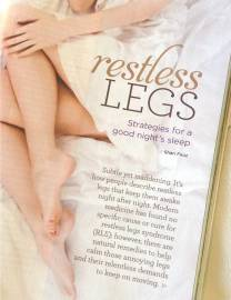 Restless legs. Strategies for a good night's sleep by Shari Feuz