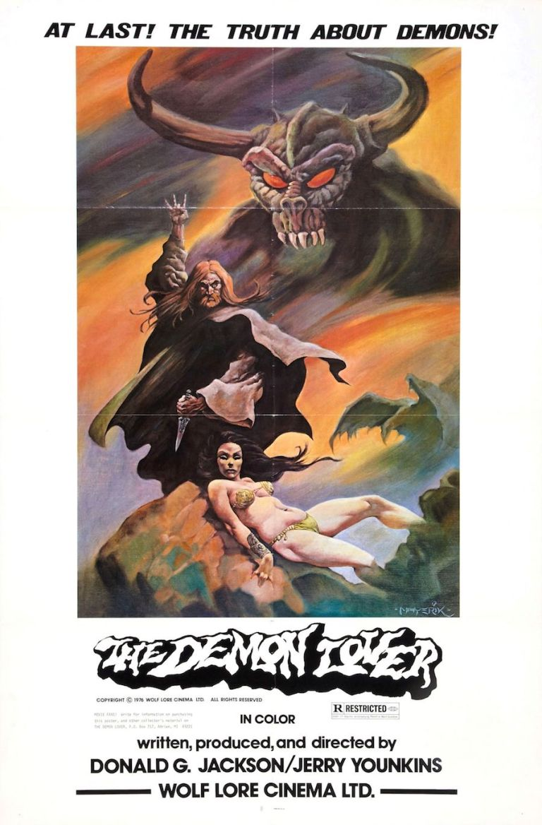 THE DEMON LOVER 1977 movie poster