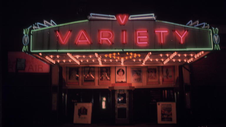 VARIETY screens at Barbican as part of THE GRIME & THE GLAMOUR (02 OCT).
