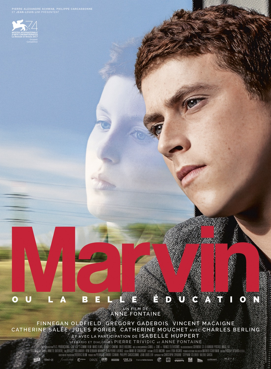 LONDON FILM FESTIVAL: REINVENTING MARVIN from director Anne Fontaine screened at Ciné Lumière (09 OCT).