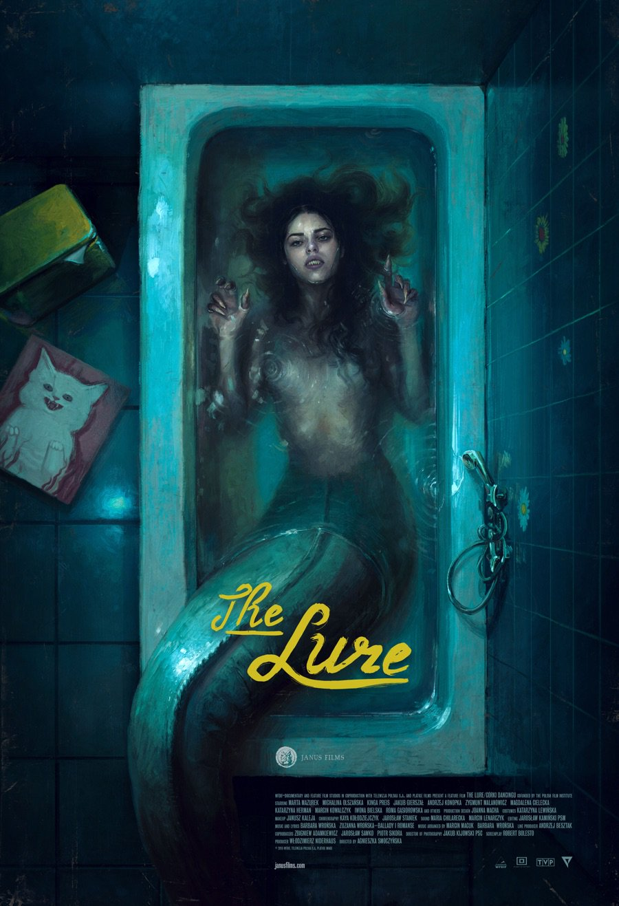 Top Ten Horror Movie Musicals: THE LURE (2015).