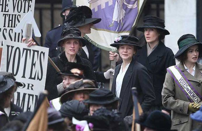 NOW SHOWING: SUFFRAGETTE screens at ArtHouse Crouch End (06 FEB).