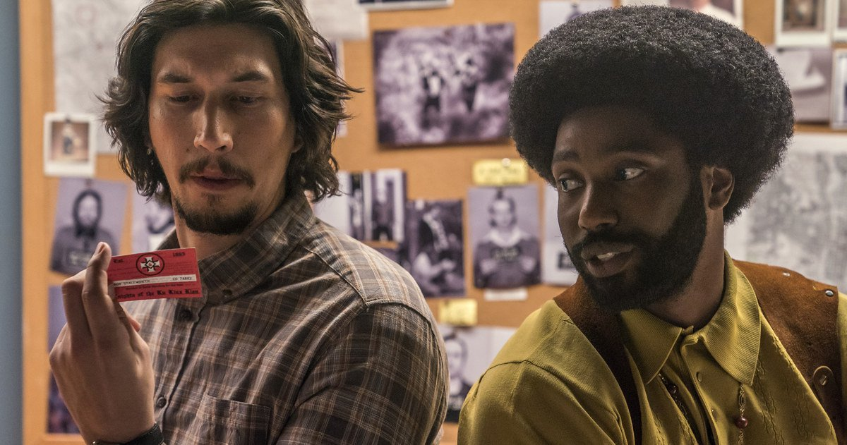 Films in London this week: BLACKkKLANSMAN various venues (20 AUG).