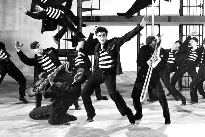 Films in London today: JAILHOUSE ROCK at Rio Cinema (29 SEP).