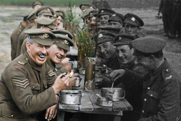 Films in London today: THEY SHALL NOT GROW OLD at St Barnabas Millennium Halls (11 NOV).