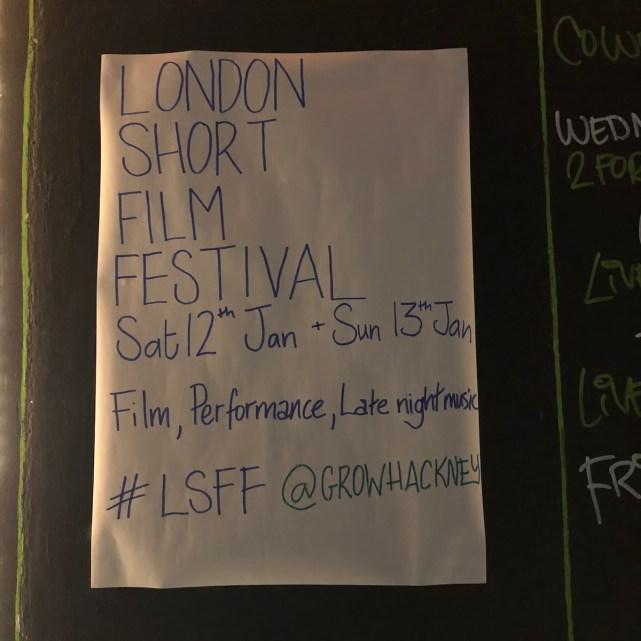 LSFF sign at Grow