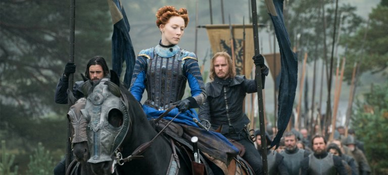 Films in London this week: MARY QUEEN OF SCOTS at ArtHouse (18 to 24 JAN).