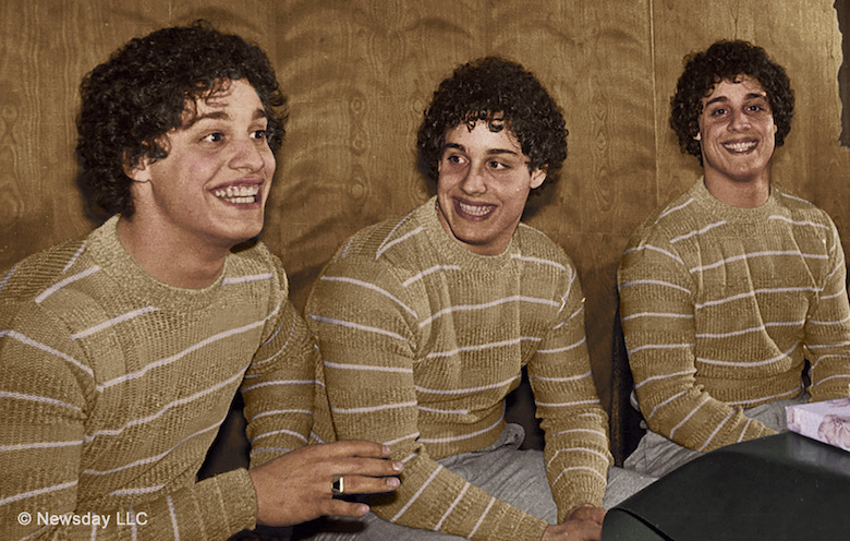 Films in London: THREE IDENTICAL STRANGERS at Screen25 (21 FEB).