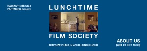LUNCHTIME FILM SOCIETY Bridewell Theatre ABOUT US 23 Oct 2019