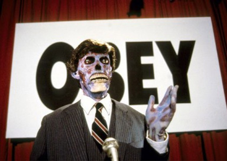 Films in London today: THEY LIVE at Somerset House (17 AUG).