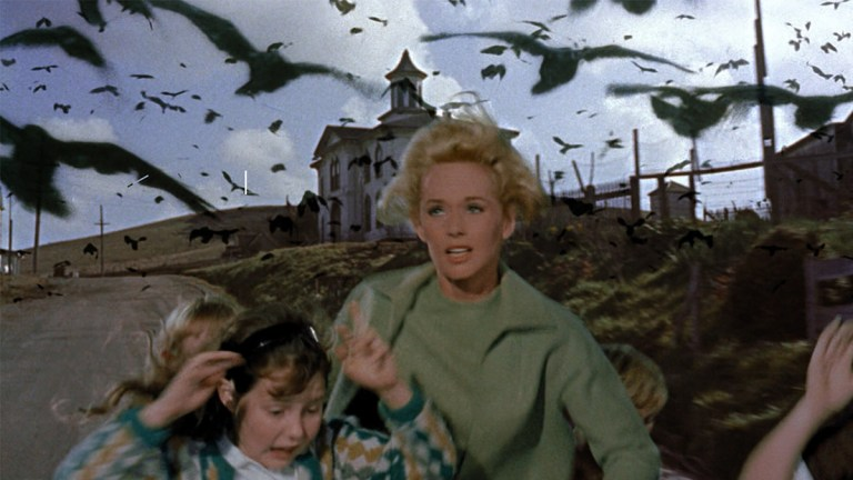 Films in London this month: THE BIRDS, part of HITCHCOCKTOBER at The Birds (OCT).